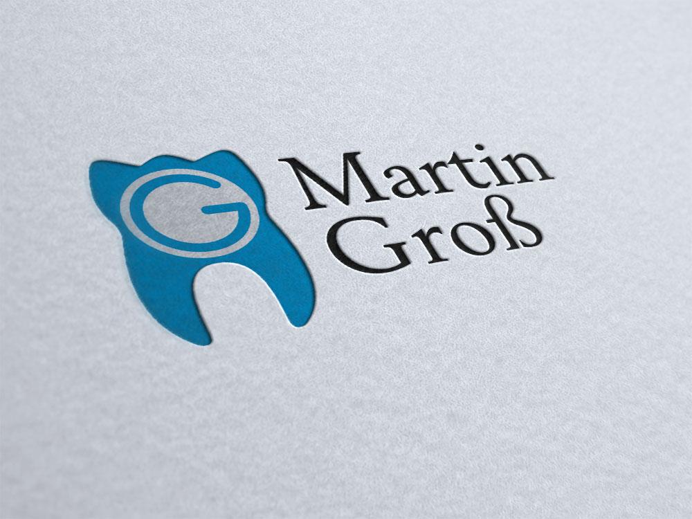professionelles logo design fuer zahnaerzte am beispiel zahnarzt martin gross bahlingen